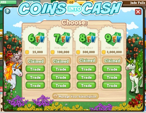 Farmville Coin to Farmville Cash is Here – For a Price | Farming Notes